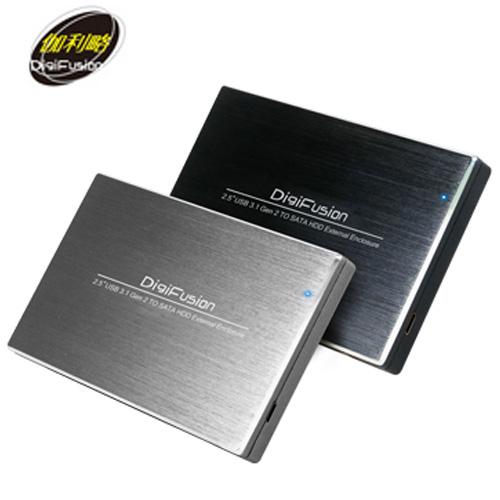 伽利略 USB3.1 Type-C to SATA/SSD 2.5吋硬碟外接盒(HD-330U31S)