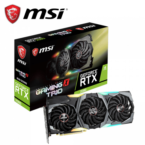 【MSI 微星】GeForce RTX 2080 GAMING X TRIO 顯示卡