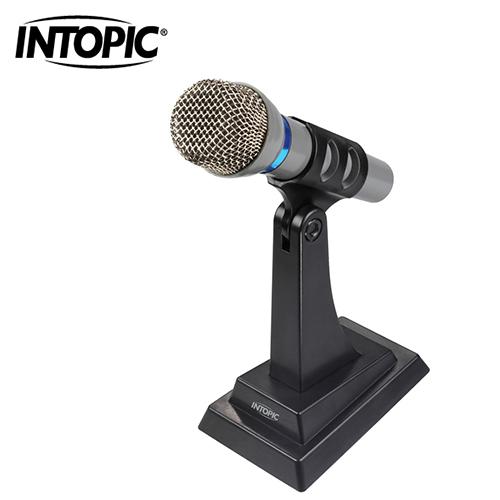 【INTOPIC 廣鼎】桌上型麥克風(JAZZ-020)