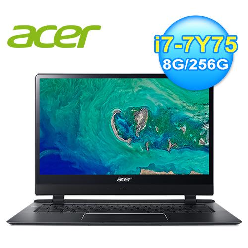 【Acer 宏碁】SF714-51T-M2BC 14吋觸控超輕薄筆電-黑