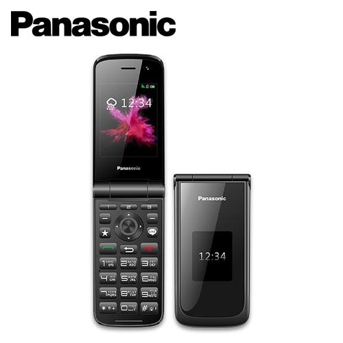 【Panasonic  國際牌】VS-200 2.8吋 雙螢幕4G摺疊手機(黑)