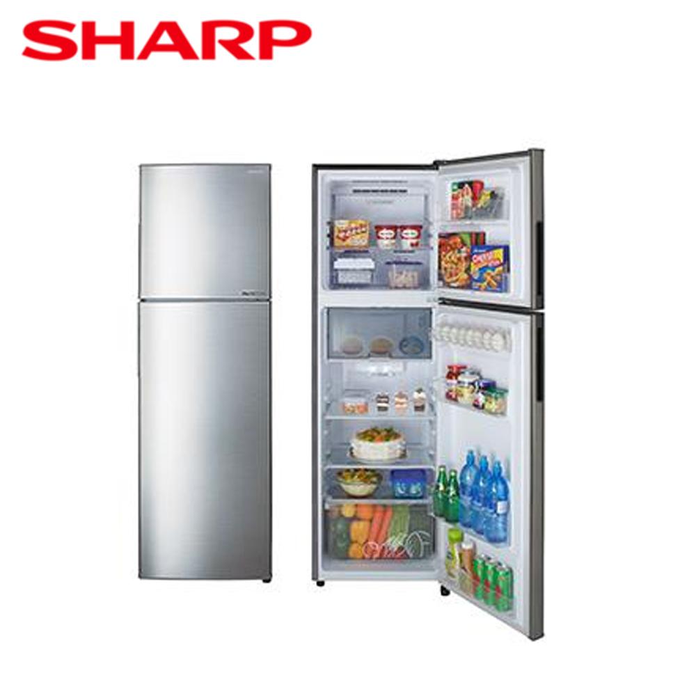 【SHARP夏普】253公升變頻雙門電冰箱SJ-GX25-SL