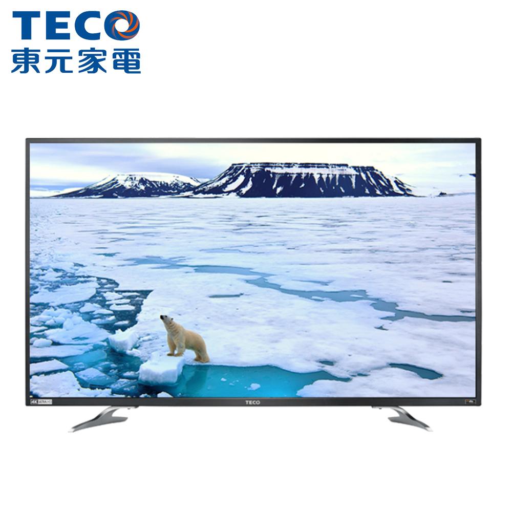 【TECO東元】43吋4K聯網液晶顯示器TL43U1TRE(只送不裝)