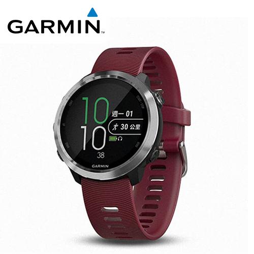 【GARMIN】Forerunner 645M GPS智慧心率音樂錶 櫻桃紅