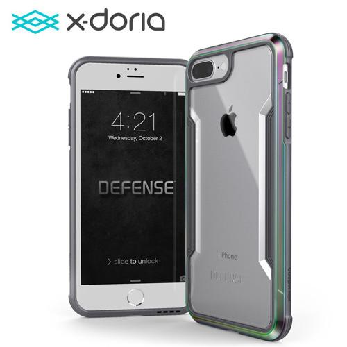 【X-Doria】Apple iPhone 7 Plus 極盾防摔手機殼 繽紛虹