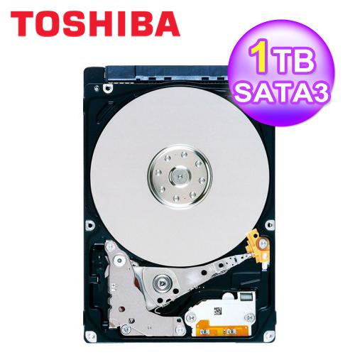 【TOSHIBA 東芝】7mm 1TB 2.5吋硬碟 兩年保固(MQ04ABF100)