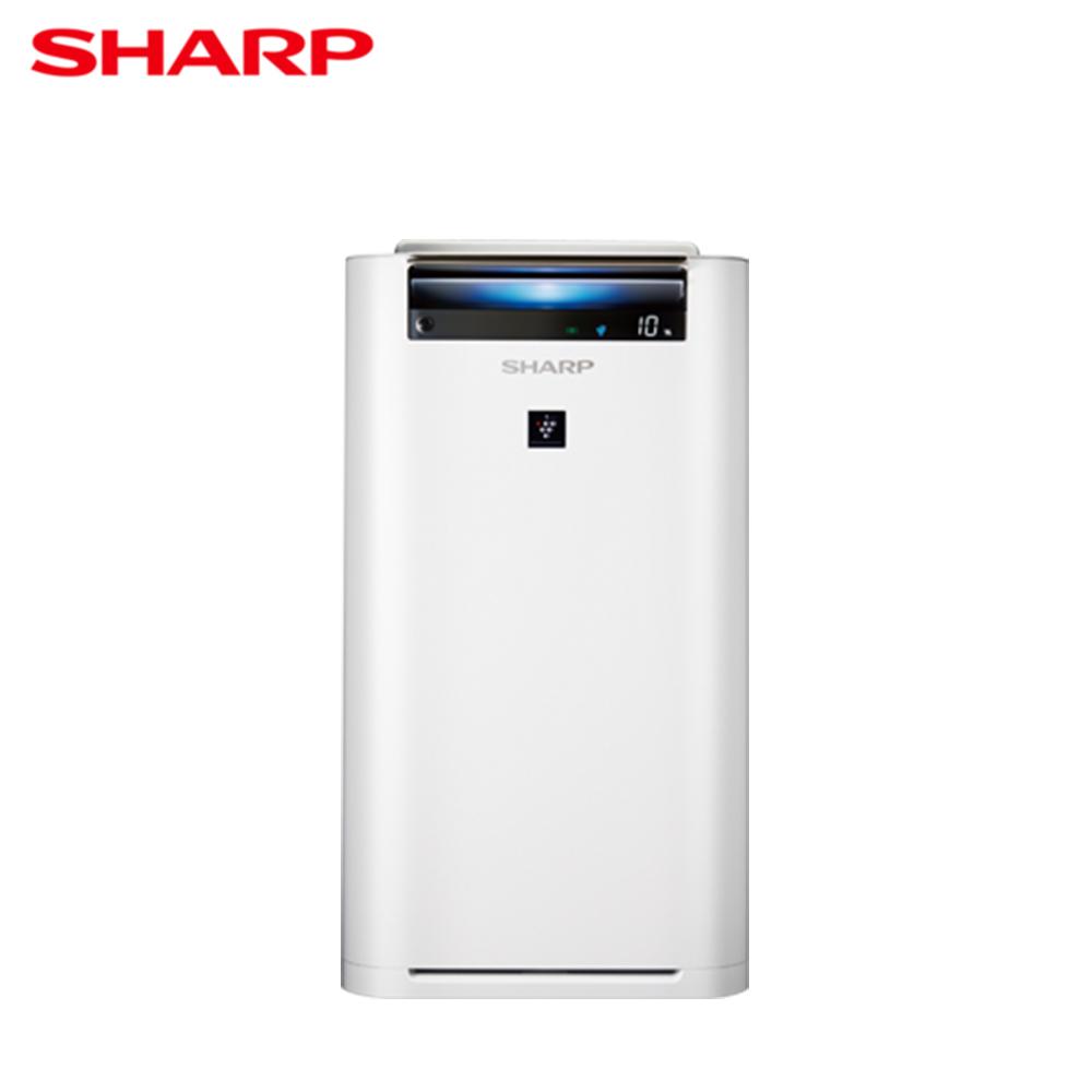 【SHARP夏普】10~12坪水活力空氣清淨機KC-JH50T-W