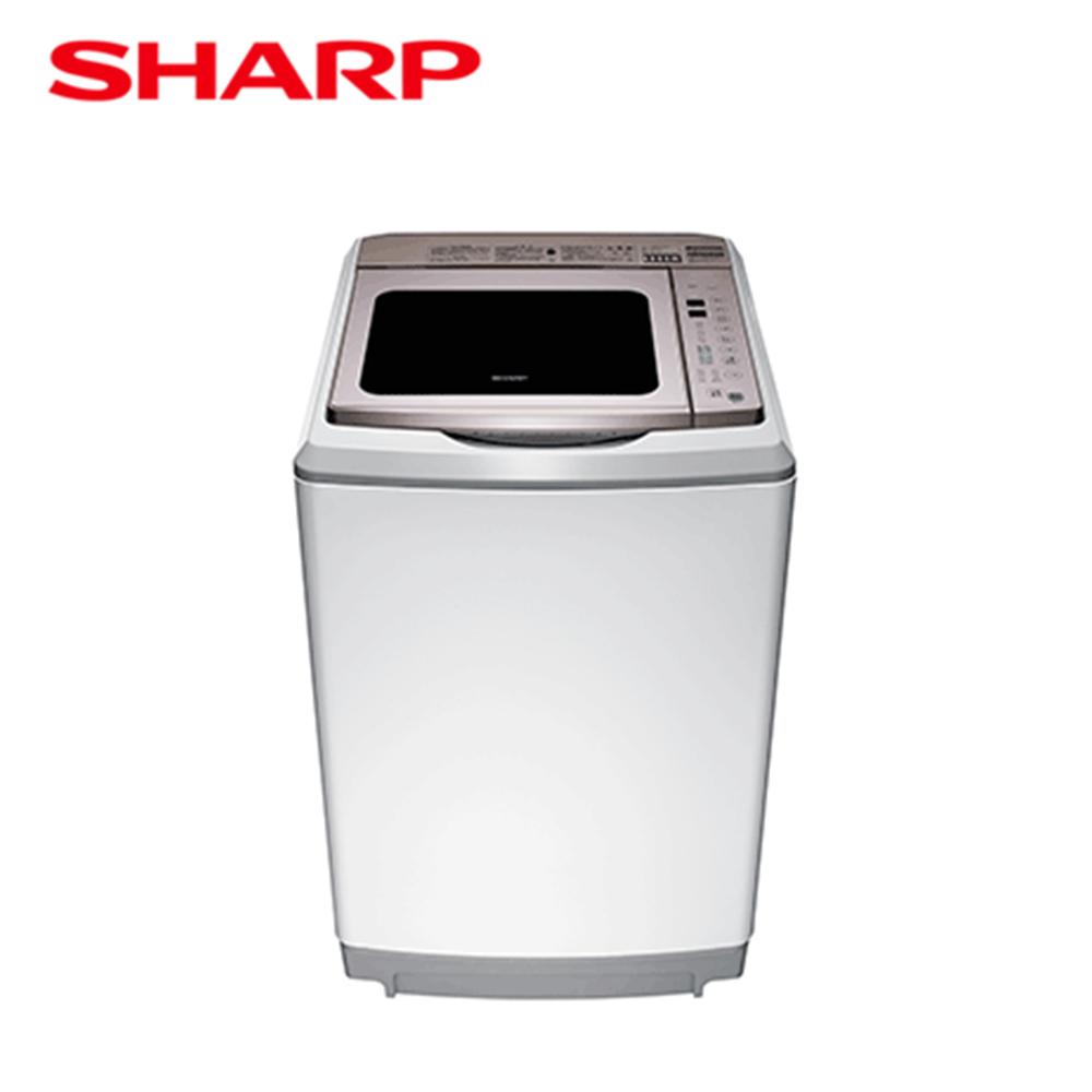 【SHARP夏普】無孔槽變頻洗衣機ES-SDU17T