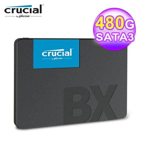 【Micron 美光】Crucial BX500 480G SSD 2.5吋固態硬碟