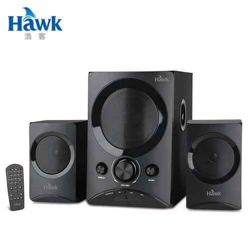 【Hawk 浩客】雷鳴之音2.1聲道藍牙多媒體喇叭(08-HGS450)