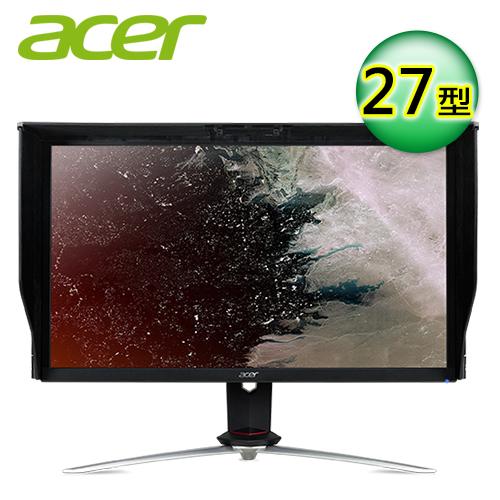 【Acer 宏碁】27型 Nitro 4K廣視角電競液晶顯示器(XV273K P)
