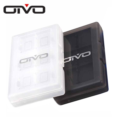 【NS 周邊】OiVO Switch 卡夾收納盒 24片裝 (顏色隨機出貨)