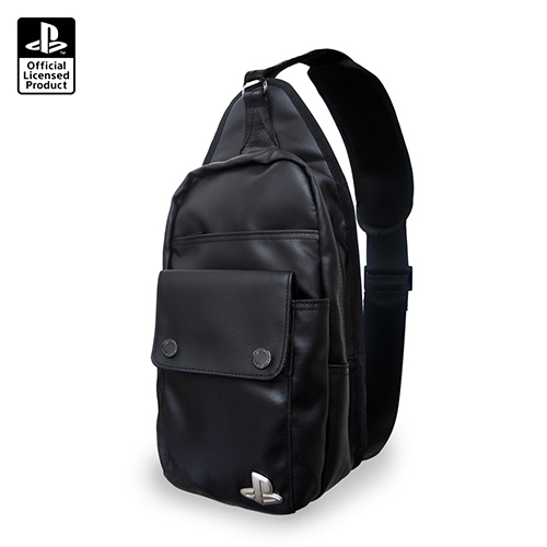 【SONY 索尼】PlayStation 都會休閒輕旅 單肩斜背包(OLP-WLA-02)