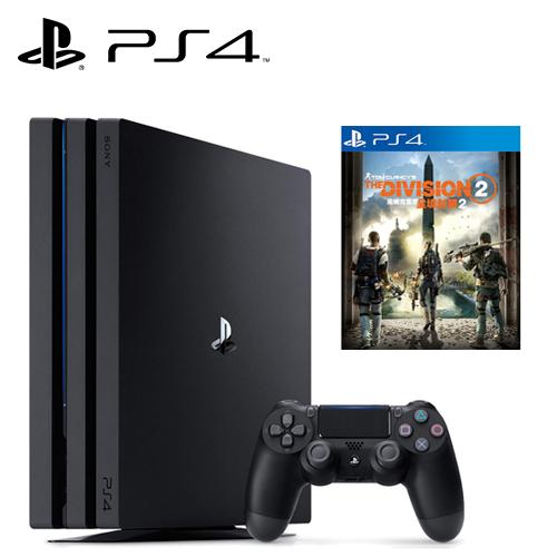 SONY PS4 PRO 1TB 主機 + 湯姆克蘭西:全境封鎖 2《中文版》