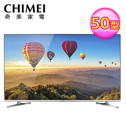 【CHIMEI 奇美】50型 4K HDR 智慧聯網液晶顯示器+視訊盒(TL-50R300)