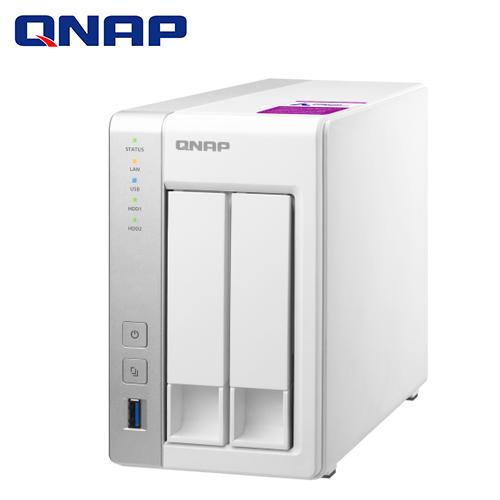 【QNAP 威聯通】TS-231P2-1G 2-Bay NAS 網路儲存伺服器(不含硬碟)