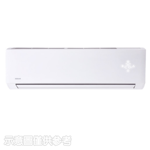 (含標準安裝)禾聯變頻分離式冷氣3坪HI-N23/HO-N23