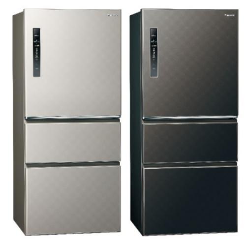Panasonic國際牌610公升三門變頻鋼板冰箱銀河灰NR-C610HV-S