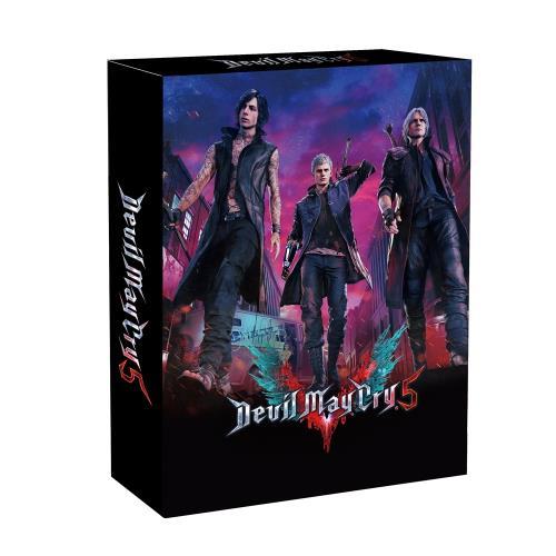 【PS4 遊戲】惡魔獵人5 鐵盒珍藏版《中文版》