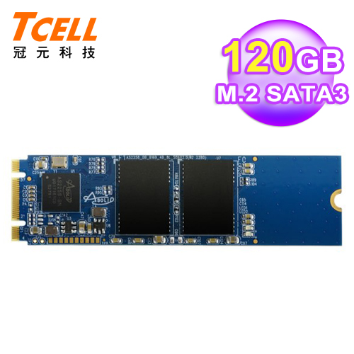 TCELL  冠元 TT650 M.2 120G SSD 固態硬碟
