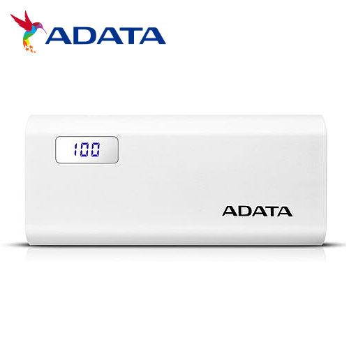 【ADATA 威剛】P12500D 行動電源 12500mAh(白)