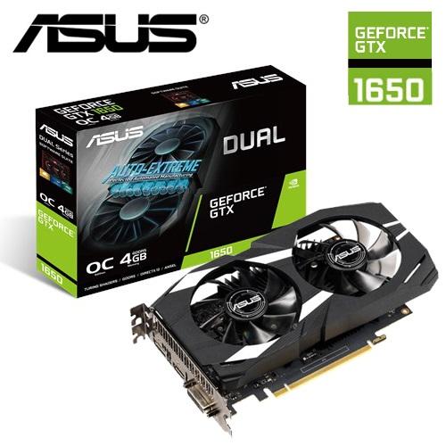 【ASUS 華碩】DUAL GeForce GTX 1650 O4G 顯示卡