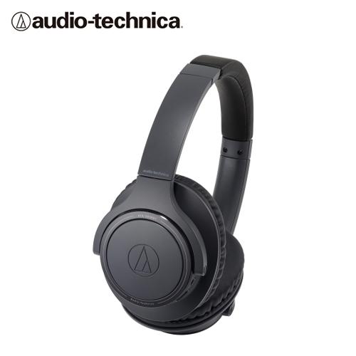 【audio-technica 鐵三角】ATH-SR30BT 耳罩式藍牙耳機(黑)
