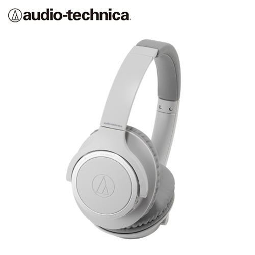【audio-technica 鐵三角】ATH-SR30BT 耳罩式藍牙耳機(灰)