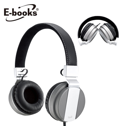 【E-books】S64 頭戴式摺疊耳麥