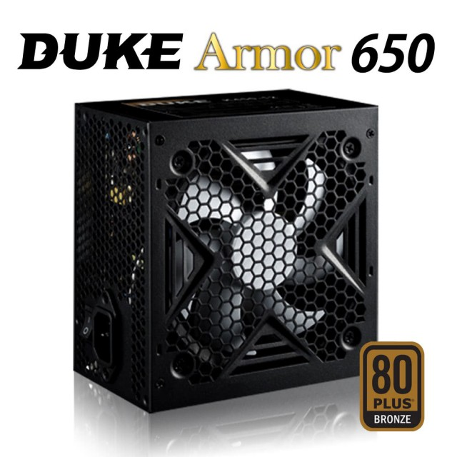 【Mavoly 松聖】Duke Armor BR650 650W 80Plus銅牌 電源供應器