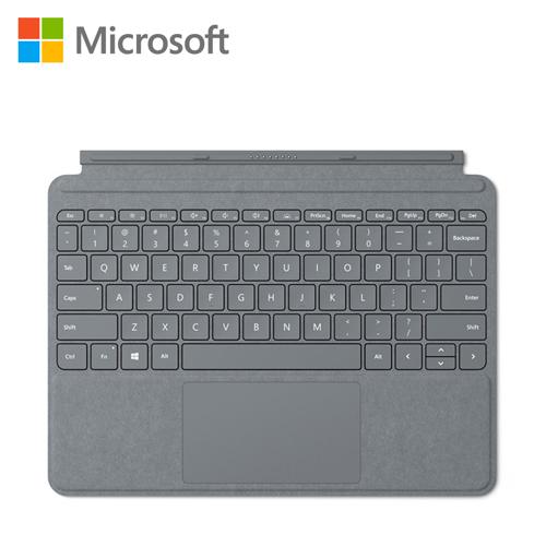 【Microsoft 微軟】Surface Go 實體鍵盤保護蓋(白金) KCS-00018