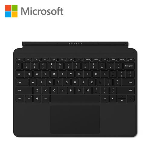 【Microsoft 微軟】Surface Go 實體鍵盤保護蓋 (黑色) KCM-00018