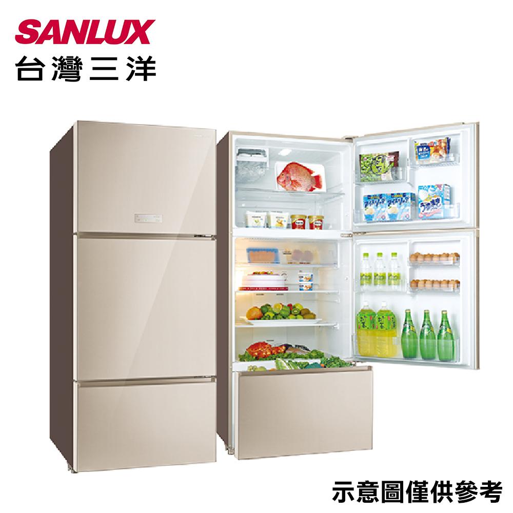 【SANLUX 三洋】580公升變頻三門冰箱SR-C580CVG