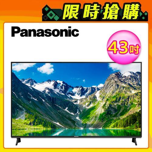 【Panasonic 國際牌】43吋 4K UHD 液晶電視 TH-43GX750W+視訊盒