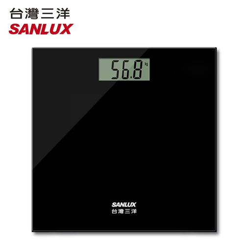 【SANLUX 台灣三洋】數位體重計 SYES-301(K)