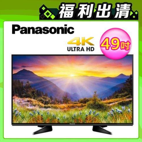 Panasonic 49吋 4K UHD 智慧連網液晶電視 TH-49EX600W