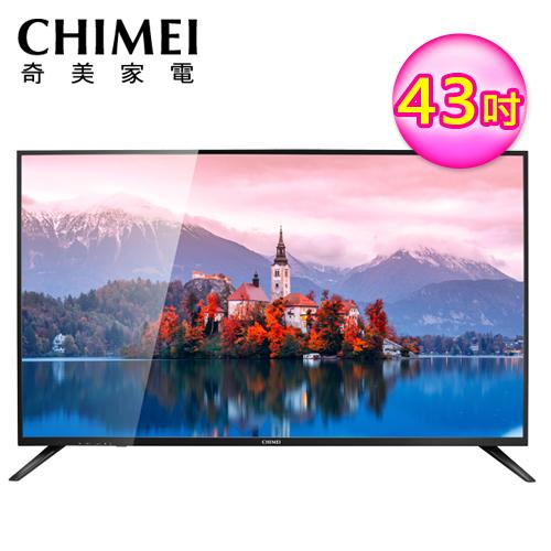 【CHIMEI 奇美】43吋4K聯網液晶顯示器(TL-43M300) 液晶電視