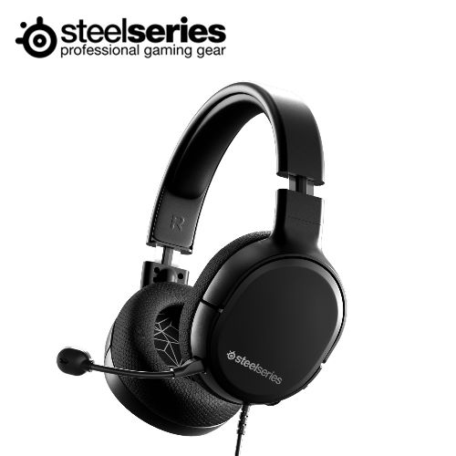 【SteelSeries 賽睿】ARCTIS 1耳機麥克風 (黑色)