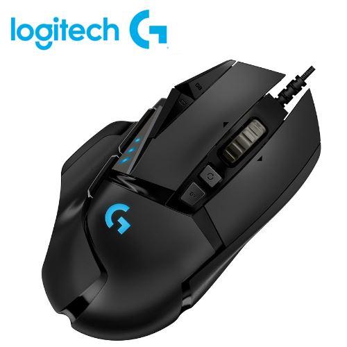 羅技 G502 RGB自調控遊戲滑鼠