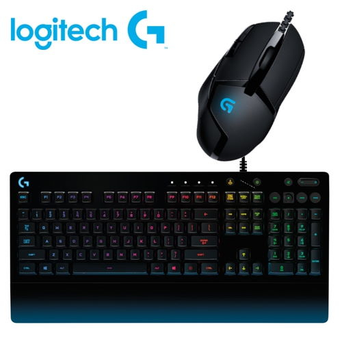 【logitech 羅技】G402 遊戲光學滑鼠 + G213 PRODIGY RGB 遊戲鍵盤