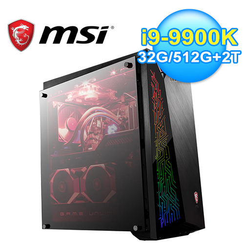 【MSI 微星】Trident X Plus 9SE-295TW 輕巧電競桌機