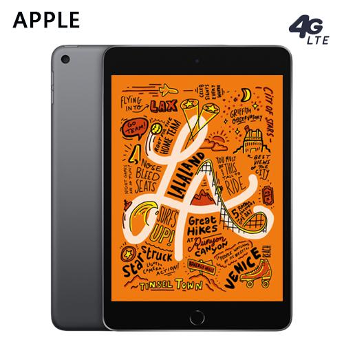 【Apple】2019 iPad mini 5 WiFi+LTE 64GB 7.9吋 平板 灰色