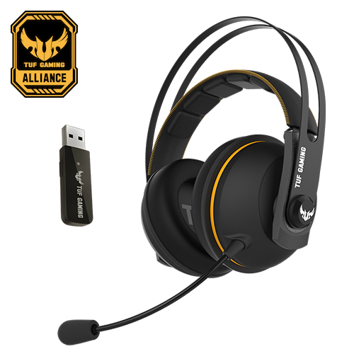 【ASUS 華碩】TUF Gaming H7 Wireless 無線電競耳機