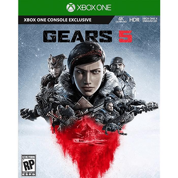 【Microsoft 微軟】Xbox One X 戰爭機器 5《中文版》