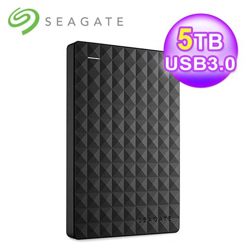 【SEAGATE 希捷】Expansion Desktop 5TB 2.5吋 新黑鑽外接硬碟