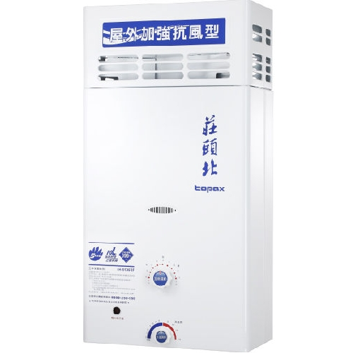 (全省安裝)莊頭北10公升抗風型13排火熱水器TH-5107RF