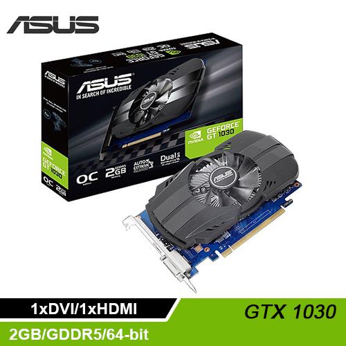 ASUS 華碩 PH-GT1030-O2G 顯示卡