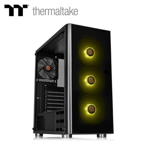 【Thermaltake 曜越】V200 RGB強化玻璃中直立式機殼