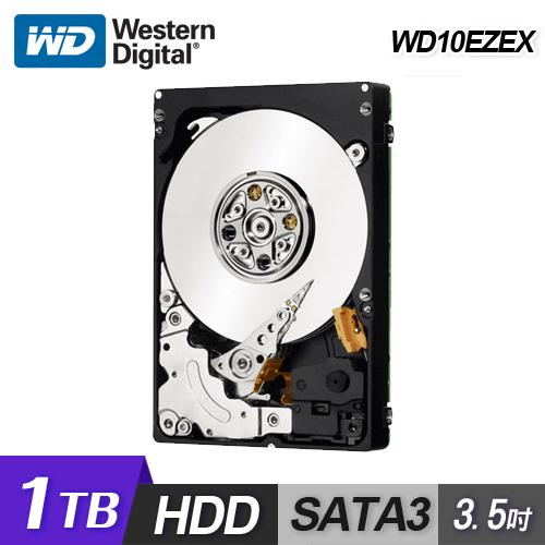 WD 威騰 WD10EZEX 1TB 3.5吋桌上型硬碟 (藍標)