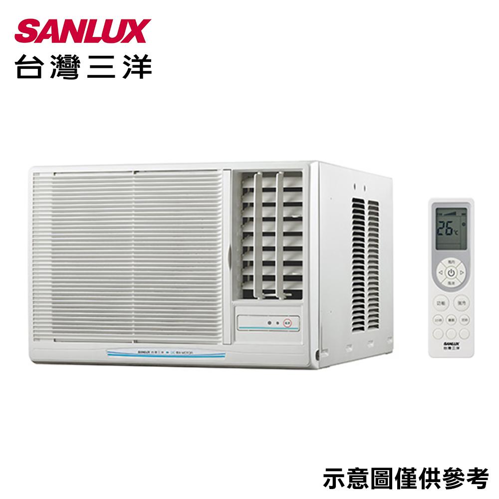 【SANLUX三洋】4-6坪窗型右吹冷氣SA-R28FEA